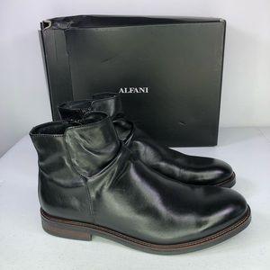 Alfani Arlen Chelsea Leather Upper Boots